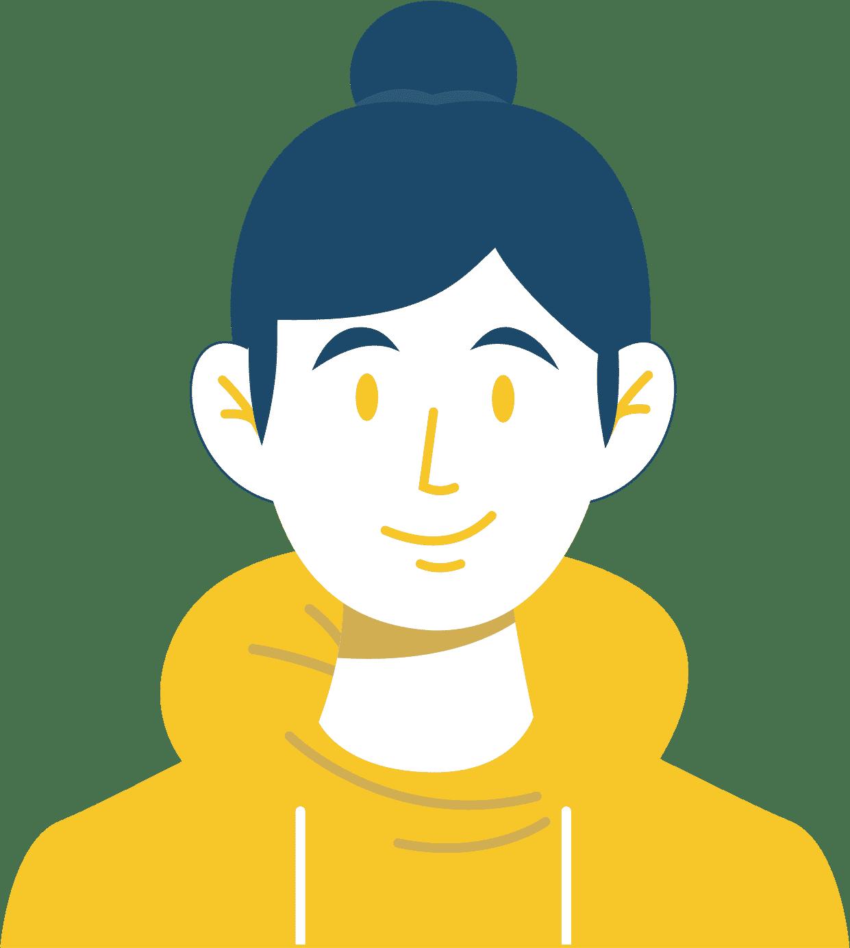 Portrait d'un jeune/étudiant